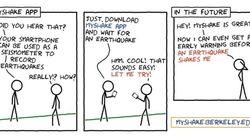 Η νέα δωρεάν εφαρμογή MyShake μετατρέπει τα κινητά