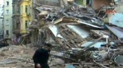 Κατέρρευσε πενταώροφο κτίριο στην