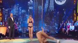 Επική τούμπα: Πρώην «Μις Γαλλία» και μοντέλο προσπαθεί να κάνει pole dancing και πέφτει
