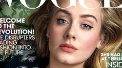 Κάτι λείπει από το νέο εξώφυλλο της Adele για τη Vogue