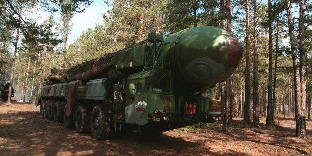 A Russian army ICBM