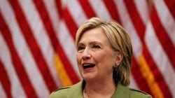 Un sondage donne Clinton devant Trump de 12