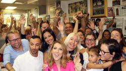 Céline Dion surprend ses fans au Schwartz's