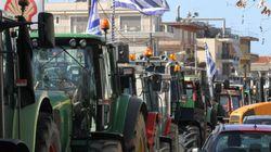 Η κάθοδος των αγροτών στην