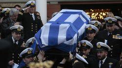 Με τιμές η κηδεία του κυβερνήτη του μοιραίου ελικοπτέρου, Αναστάσιου