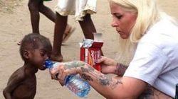 Γυναίκα διέσωσε δίχρονο αγόρι στην Αφρική που είχε εγκαταλειφθεί επειδή «ήταν