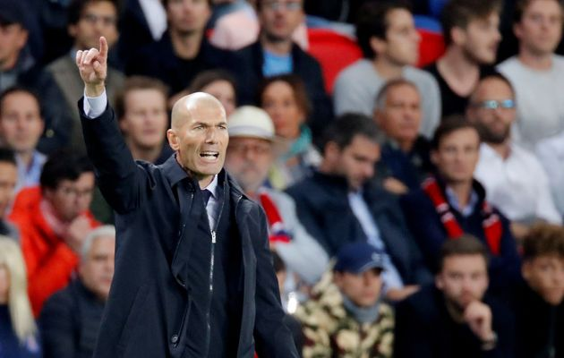 Zinedine Zidane in a file