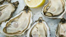 Rappel d'huîtres possiblement contaminées à la bactérie