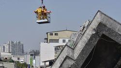 Δύο άτομα ανασύρθηκαν ζωντανά από τα ερείπια της πολυκατοικίας στην Ταϊβάν. Στους 35 οι