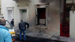 Ανησυχία στην ΕΛ.ΑΣ μετά τις επιθέσεις σε Φλαμπουράρη και ΠΑΣΟΚ: Μολότοφ πέτυχε στο λαιμό
