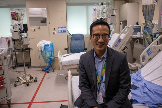 Dr. Lennox Huang is a pediatric intensive care doctor at the