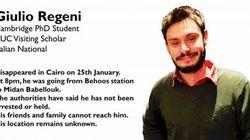 Νεκρός εντοπίστηκε Ιταλός φοιτητής που είχε εξαφανιστεί στο Κάιρο. Στη Ρώμη κλήθηκε ο Αιγύπτιος