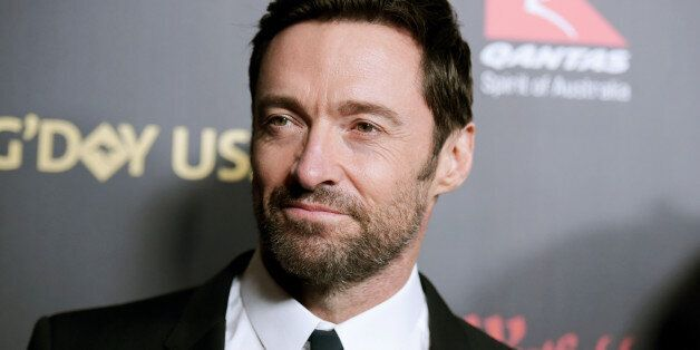 Hugh Jackman attends the 2016 G'Day USA LA Gala held at Vibiana on Thursday, Jan. 28, 2016, in Los Angeles. (Photo by Richard Shotwell/Invision/AP)