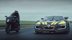 Renault Sport R.S. 01 σε ρόλο περιπολικού καταδιώκει