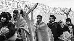 Με αργούς ρυθμούς η διέλευση προσφύγων στην Ειδομένη. Συγκέντρωση διαμαρτυρίας κατά της ύψωσης