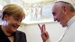 Τι είπε ο Πάπας Φραγκίσκος στη Μέρκελ και την έκανε