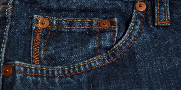 classic design jeans small and big  pockets