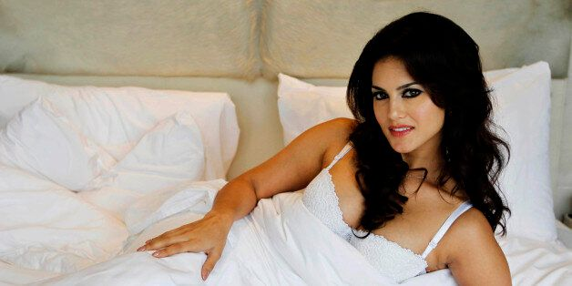 In this Wednesday, Aug. 1, 2012 photo, hard-core porn actress Sunny Leone, who stars in Bollywood film...