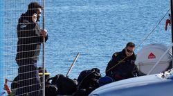 Διεκόπησαν οι έρευνες του Λιμενικού στην περιοχή της Καλολίμνου: Επικρατούν ισχυροί άνεμοι που φθάνουν τα 8