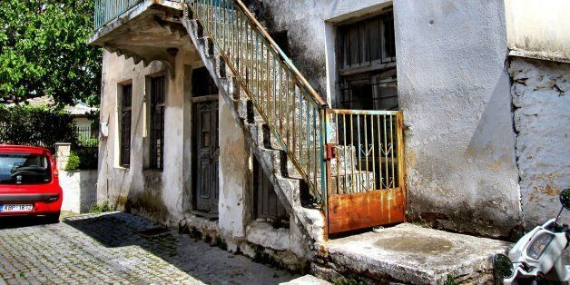 Taken in the small village of Theologos on the Greek island of Thassos.This village is full of of neglected...