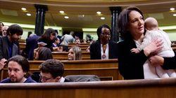 Αυτή η βουλευτής έφερε το μωρό της στη Βουλή. Δεν είναι η