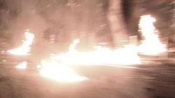 Επίθεση με μολότοφ στα γραφεία του ΠΑΣΟΚ το βράδυ του