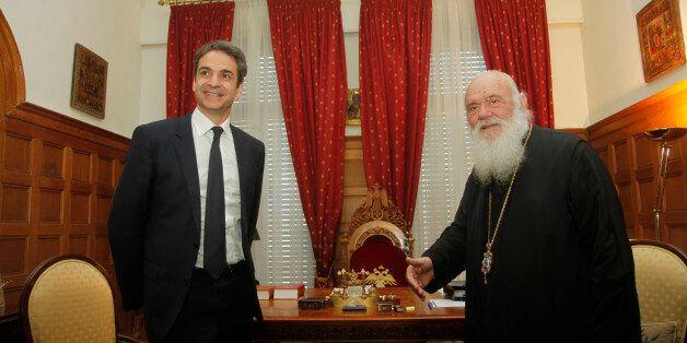 Συνάντηση Μητσοτάκη και με τον Αρχιεπίσκοπο
