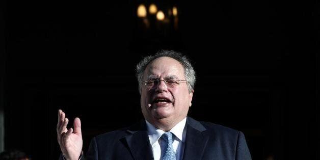 Απέκλεισε εκ νέου το ενδεχόμενο κοινών περιπολιών ελληνικής και τουρκικής ακτοφυλακής ο Κοτζιάς στη συνάντηση...