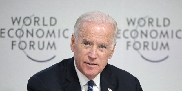 U.S. Vice President Joseph 'Joe' Biden speaks during a panel session on cancer research, treatment and...