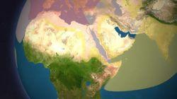 Χάρτης: Ο χρόνος που χρειαζόταν να κάνεις το γύρο του κόσμου πριν 100