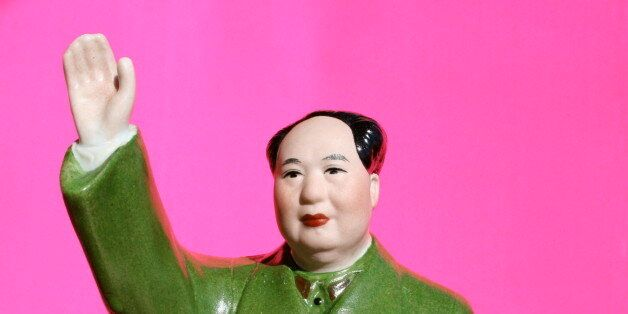 Picture of Mao statue I got for my birthday from a friend who just returned from