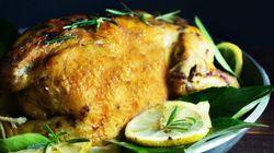 Γιορτινή κότα στα
