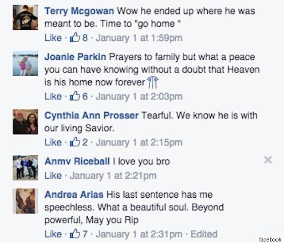 Το τελευταίο post στο Facebook ενός 31χρονου γίνεται viral μετά τον τραγικό του θάνατο την