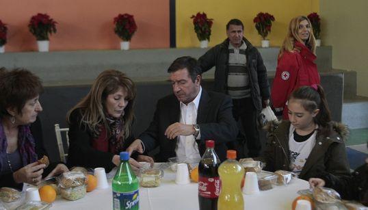Πρωτοχρονιάτικο γεύμα αλληλεγγύης σε άστεγους και άπορους από τον δήμο