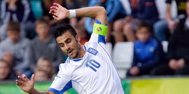 (FILES) Greek Giorgos Katidis in action during the UEFA European Under-19 football championships final...