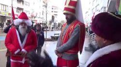 Ο Άγιος Βασίλης ενοχλεί:Τούρκοι εθνικιστές τον έκαναν μουσουλμάνο και δήμαρχος στη Θράκη ενοχλείται με την «παρουσία»
