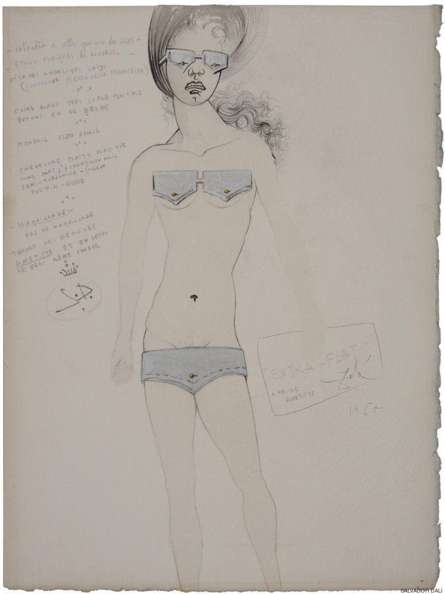 Τα σπάνια και παράξενα σκίτσα του Salvador Dali από την περίοδο που ασχολήθηκε με την