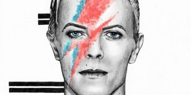 A limited edition of 2000 hand-bound books by Genesis Publications. Signed by Bowie and