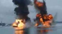 Το Ναυτικό της Ινδονησίας τορπιλίζει τρία ξένα
