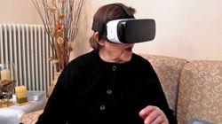 80χρονη στην Κοζάνη βάζει για πρώτη φορά μάσκα εικονικής πραγματικότητας. Και η αντίδραση της είναι