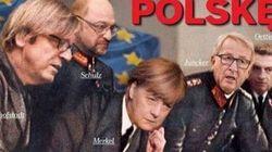 Η Μέρκελ ντυμένη Ναζί σε προκλητικό εξώφυλλο Πολωνικού