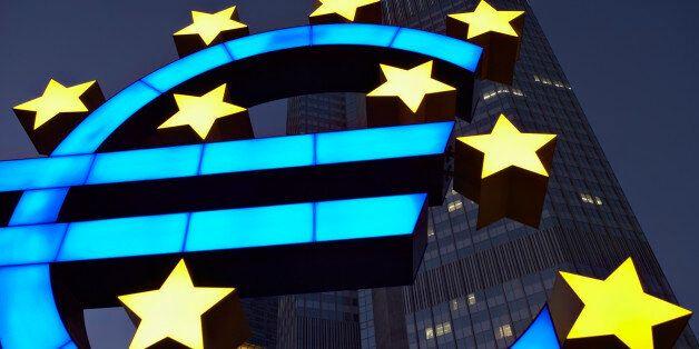 Euro sign and European Monetary