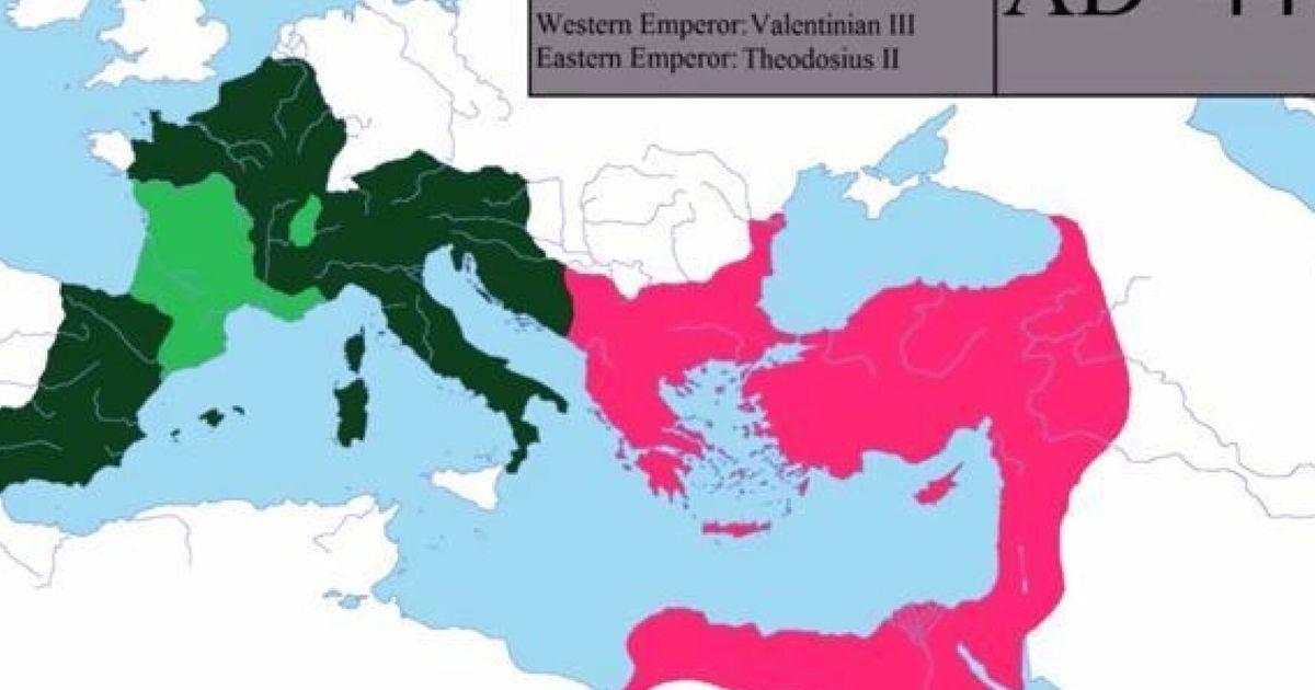 H Istoria Ths Rwmaikhs Aytokratorias Apo Thn Rwmh Sto Byzantio