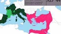 Η ιστορία της Ρωμαϊκής Αυτοκρατορίας: Από την Ρώμη στο