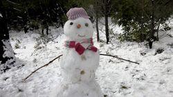 Έρχεται χειμώνας. Πρωτοχρονιά με χιόνια και
