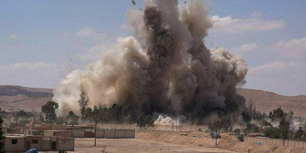 FILE - This photo released on Saturday, May 30, 2015 by a militant website, which has been verified and...