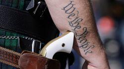 Νόμος θα επιτρέπει στους Τεξανούς να εμφανίζουν τα όπλα τους σε δημόσιους