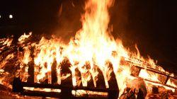 Οι Χριστουγεννιάτικες φωτιές της Φλώρινας: Ένα έθιμο