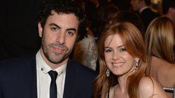 O «Borat» και η σύζυγός του Isla Fisher δώρισαν 900.000 ευρώ για τα θύματα του πολέμου στη