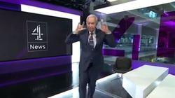Βρετανός παρουσιαστής εκτελεί τη χορογραφία για το Hotline Bling και σπάει το